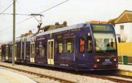 Tram No 2531 'Addington Palace' Pauses At Addiscombe Road On A Training Run To Wimbledon  -  CPM - Strassenbahnen
