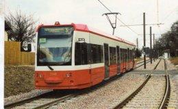 Tram No 2548 Approaches Lloyd Park Stop On Its Journey To New Addington  -  CPM - Strassenbahnen