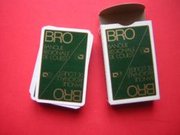 JEU DE 52  CARTES + 2 JOKER  PUB BRO  SON CARTONNAGE  CARTES A JOUER DUCALE - Unclassified