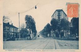 94) LE PERREUX : Rond Point De Plaisance - Bd Alsace-Lorraine Et Bd Fontenay - Le Perreux Sur Marne