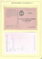 ENTEROS EN FRANQUICIA DEL SERVICIO METEREOLÓGICO NACINAL 2 TIPOS DE MARCAS. SERVICIO DE CLIMATOLOGÍA. 11 UDS DIFERENTES - Interi Postali