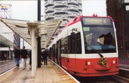 Tram No 2543 At East Croydon From New Addington  -  CPM - Strassenbahnen