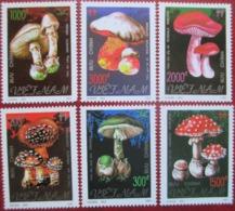 VIETNAM  1991  Mushrooms  6 V  MNH - Paddestoelen