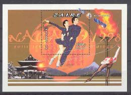 Olympic Games Nagano 1996 COB BL103/104 MNH - Zaire