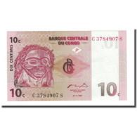 Billet, Congo Democratic Republic, 10 Centimes, 1997-11-01, KM:82a, NEUF - Congo