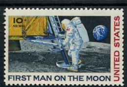 848384830 1969 SCOTT C76 POSTFRIS MINT NEVER HINGED EINWANDFREI (XX)  MOON LANDING - Air Mail