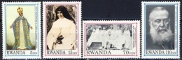 Rwanda COB 1388/92 Kardinaal Lavigerie MNH-postfris-neuf - Rwanda