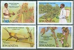Rwanda COB 1399/02 Bescherming Planten-Protection Végétaux MNH-postfris-neuf - Rwanda