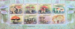 JORDAN 2010    Mushrooms   M/S MNH - Funghi
