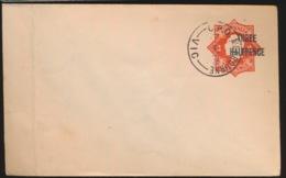 AUSTRALIA    COVER  THREE HALFPENCE - Postal Stationery