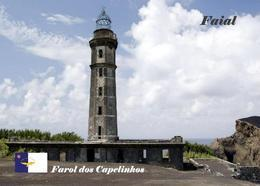 Azores Faial Island Capelinhos Lighthouse New Postcard Azoren Leuchtturm AK - Vuurtorens