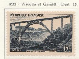 PIA  - FRAN : 1952 : Viadotto Di Garabit  - (Yv 928) - Ponti