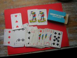 JEU DE 52  CARTES + 2 JOKER  PUB CREDIT DU NORD  SON CARTONNAGE - Playing Cards