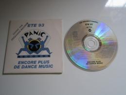 CD ÉTÉ 93 PANIC RECORDS ENCORE PLUS DE DANCE MUSIC - POLYGRAM - Compilations