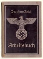 WW2 Socialist Germany Deutsches Reich Arbeitsbuch  Troppau / Opava  Reichsgau Sudetenland - Margit Pflieger 1942 - Documenten