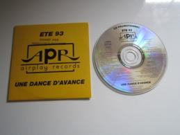 CD ÉTÉ 93 APR AIRPLAY RECORDS UNE DANCE D'AVANCE - POLYGRAM - Compilations