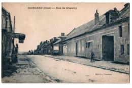 GUISCARD RUE DE CHAUNY ANIMEE - Guiscard