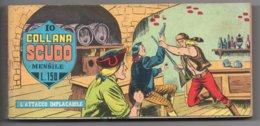 "Collana Scudo ""Raccolta Striscia"" (Dardo 1968) N. 10  ""Il Grande Blek"" - Boeken, Tijdschriften, Stripverhalen"