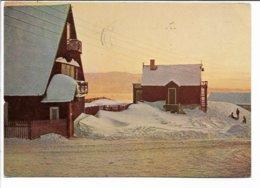 Greenland - Old Trade Buildings At Julianehåb. Used Denmark. Sent To Norway 1975.  B-3730 - Groenlandia