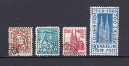 US & Britische Zone - 1948 - Michel Nr. 69/72 - Gest. - Bizone