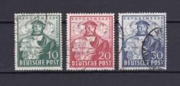 US & Britische Zone - 1849 - Michel Nr. 103/105 - Gest. - Bizone