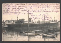 Saint-Nazaire / St-Nazaire - La Calédonie - Ex-transport Des Condamnés à La Guyane - 1912 - Bateau - Saint Nazaire