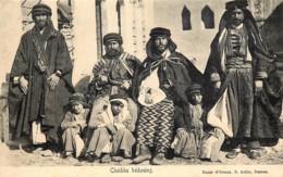 Syrie - Cheikhs Bédouins - Edit.Bazar D'Orient, B. Asfar, Damas - Siria