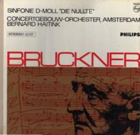 """* LP *  BRUCKNER : SINFONIE D-MOLL """" DIE NULLTE""""  - CONCERTGEBOUWORKEST / HAITINK (Ned EX/EX-) - Klassik"""