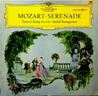 * LP *  MOZART-SERENADE: FESTIVAL STRINGS LUCERNE / BAUMGARTNER (Germany 1966 EX/EX-) - Klassiekers