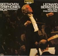 * LP *  BEETHOVEN: SYMPHONIES No.6 PASTORALE - NEW YORK PHILHARMONIC / BERNSTEIN (Ned 1977 EX-) - Classical