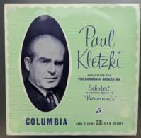 "* LP *  SCHUBERT: INCIDENTAL MUSIC TO "" ROSAMUNDE"" - PHILHARMONIA ORCHESTRA / PAUL KLETZKI (Ned 1959) - Klassiekers"