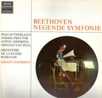 * LP *  BEETHOVEN: SYMPHONY Nr. 9 - ORCHESTRE DE LA SUISSE ROMANDE / ANSERMET / JOAN SUTHERLAND - Klassiekers