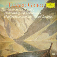 * LP *  GRIEG - PEER-GYNT-SUITEN Nr. 1 & 2 - BAMBERGER SYMPHONIKER / RICHARD KRAUS - Klassiekers