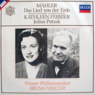 * LP * MAHLER : DAS LIED VON DER ERDE - KATHLEEN FERRIER / WIENER PHILHARMONIKER / WALTER - Classical