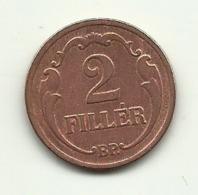 1929 - Ungheria 2 Filler - Ungheria