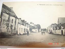 C.P.A.- Mesquer (44) - La Grande Place - 1910 - SUP (AX 92) - Mesquer Quimiac