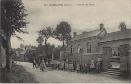 Andainville (Somme) 80 - L'Ecole De Filles. - France