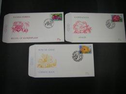 "BELG.1995 2589 2590 & 2591 FDC's :  ""Floralien / Floralies  "" - FDC"