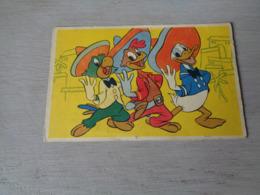Carte ( 691 ) Strip  Strips   Donald Duck  Les Trois Caballeros - Bandes Dessinées