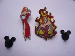 2 Big  Pin S DISNEY JESSICA Bon Etat - Disney