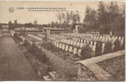 3442/ Belgique-België Lobbes Cimetière Militaire  Soldats Français & Allemands Tombés 23/8/1914 Guerre-Oorlog 14-18 - Lobbes