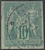 Colonies Générales - N° 32 (YT) N° 28 (AM) Type II Oblitéré De Saïgon / Cochinchine. - Sage