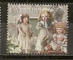 Lettonie Latvia 2015 Europa Dolls Obl - Letonia
