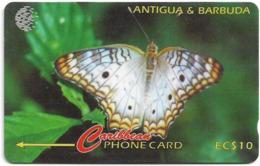 Antigua & Barbuda - Butterfly, Ten Eye Butterfly - 132CATA - 1997, 32.000ex, Used - Antigua En Barbuda