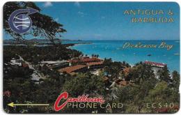 Antigua & Barbuda - Dickenson Bay, 4CATC, 1992, 10.000ex, Used - Antigua En Barbuda