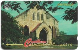 Antigua & Barbuda - Gilberts Memorial Methodist - 18CATC - 1995, 30.000ex, Used - Antigua En Barbuda