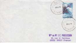 Polaire Australien, N° 31 (Northrop Gamma) Obl. Davis Le 22 DE 78 Sur Lettre Pour La France - Lettres & Documents