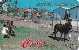 Antigua & Barbuda - Kids At Play - 14CATA - 1995, 9.900ex, Used - Antigua En Barbuda