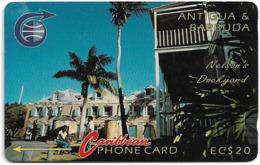Antigua & Barbuda - Nelson's Dockyard, 4CATB, 1992, Used - Antigua En Barbuda
