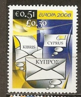 Chypre Cyprus 2008 Europa Obl - Chipre (República)